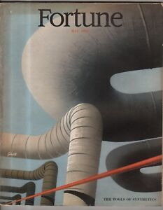 1948 Fortune May - Television; Oil; Synthetics; Germany's biological destruction