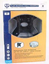 BTECH BT7511B FLAT SCREEN LCD TV WALL MOUNT BRACKET WITH TILT BLACK