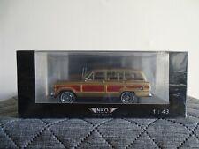 1:43 Neo #43525 Jeep Grand Wagoneer gold Neu/OVP