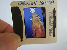 More details for original press photo slide negative - christina aguilera - 2001 - z