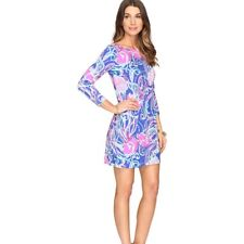 Lilly Pulitzer UPF 50+ Sophie Dress Pop Up Jellies Be Jammin XXS