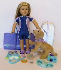"18"" American Girl 2002-2003 Girl of the Year KAILEY Doll w/DOG & Accessories"