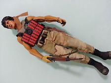 "1/6 Custom Made Hot Toys MMS 21 First Blood John J. Rambo 12""figure Rambo"