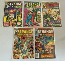Strange Tales lot 5 different from #182-186 4.0 VG (1976)