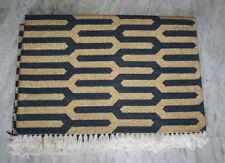 Afghan Turkish Handmade Full Gold Zari Cotton Floor Decor Kilim Rugs Carpet-4x6