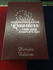 50 State Commemorative Quarter Complete Set Denver
