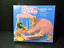 New Rare 1988 Vintage The Heart Family Sunshine Fun Pals Pool Sand Playset