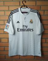 Real Madrid Home Jersey 2014 2015 Home XL Shirt Soccer Adidas Football Soccer