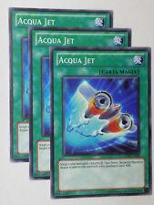 Set 3X   ACQUA JET   GENF-IT048 Comune in Italiano YUGIOH