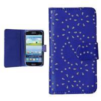 Samsung Galaxy S3 i9300 NEO i9301 custodia protettiva  wallet case cover strass