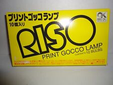 NEW Riso PRINT GOCCO Lamp Bulbs  10 Pack