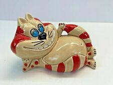 Vintage Made In Japan Cheshire Cat Alice in Wonderland Bank Mid Century Mcm