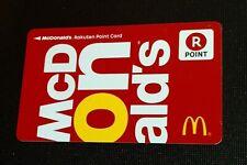 🇯🇵 JAPAN 🇯🇵 MCDONALDS MEMBER CARD ----- NEW