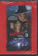 Dvd video **NIGHTMARE 3**  I Guerrieri del sogno Nuovo Sigillato 1987