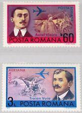 ROMANIA RUMÄNIEN 1972 3048-49 C189-90 Aviation Pioneers Flugzeuge Airplanes MNH