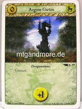A Game of Thrones LCG - 1x Aegons Garten  #097 B - Base Set deutsch