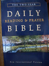 The Two-Year Daily Reading and Prayer Bible (1997, Paperback) Holy Spirit