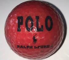 1 Polo Ralph Lauren Red #2 Logo Golf Ball (F-13-1)