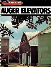 NEW IDEA 196 198 AUGER  ELEVATOR  SPECIFICATIONS and SALES BROCHURE