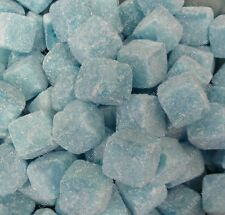 NEW! BLUE RASPBERRY CUBES 500G RETRO BAG OF SWEETS PICK N MIX