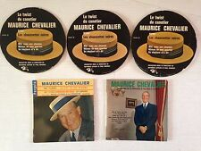 LOT 4 DISQUES 45T SPECIAL MAURICE CHEVALIER