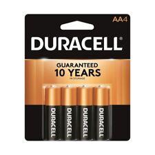 4 Pcs Duracell AA CopperTop Alkaline 1.5V Batteries