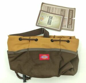 Dickies Canvas Nail Work Pouch Joiner Tool Bag 6 Pocket 6819