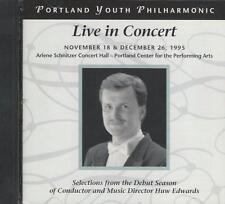 Music CD Portland Youth Philharmonic Live in Concert 1995
