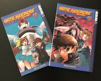 Gate Keepers Manga/Action Meiji Gato Vol.1-2 100% Authentic Manga