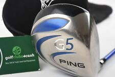 PING G5 DRIVER / 9 DEGREE / STIFF PROLAUNCH BLUE SHAFT / PIDPIN035