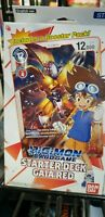 RED Digimon Card Game Starter Deck English GAIA RED ST-1 (2020, Bandai)  New