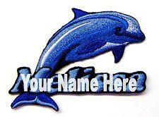 Delfín Personalizado Hierro-Sobre Parche con Nombre Personalizado Gratis
