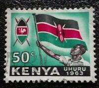 Kenya, Uganda and Tanganyika:1963 Local Motives 50 C.Rare & Collectible Stamp.