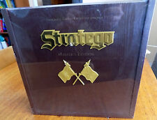 STRATEGO MASTER'S EDITION Board Game - MINT / Factory Sealed in Wood Case