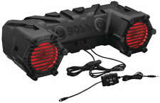 "New Boss Audio Waterproof 6.5"" Sound System With LEDs - Suzuki Eiger 400 ATV"