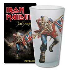 IRON MAIDEN - Trooper Official Pint Glas Bier Glas in Geschenkverpackung