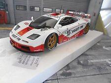 McLAREN BMW GTR F1 24h Le Mans 1995 #49 WEST Bscher Nielsen Mass Minichamps 1:18