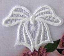 Adorable Venise lace Applique Bow Crafts Crazy Quilting baby Hat #1057