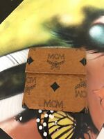 Mcm Wallet Purse Coin Purse Logogram Brown Black Woman Authentic Used