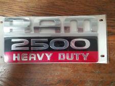 Dodge Ram 2500 Heavy Duty Emblem