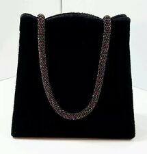 Bijan Fragrance Beverly Hills New York Black Velvet Satin Purse MultiColor Bead