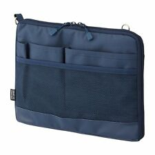 Lihit Lab. Bag in bag SMART FIT ACTACT Navy A5 size A7680-11 26x25x20cm MIJ