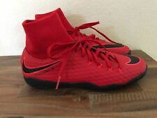 NIKE HYPERVENOM X PHELON III DF IC INDOOR SOCCER SHOES SIZE 9.5 RED 917768-616