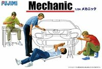 Fujimi model 1/24 Garage & Tools Series No.3 mechanic plastic model GT-3