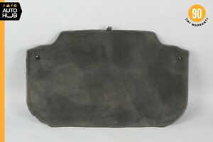 03-12 Mercedes R230 SL500 SL550 Trunk Compartment Floor Lining Trim Charcoal OEM