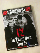 'LEGENDS U2' In Their Own Words - 2018 UK 'Q' Magazine Collectors' Series