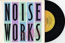 "NOISEWORKS - NO LIES - RARE 7"" 45 PROMO VINYL RECORD w PICT SLV - 1986"