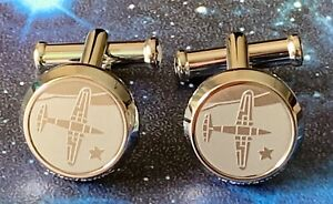 BRAND NEW MONTBLANC STAINLESS STEEL CUFFLINKS SAINT EXUPERY LE PETIT PRINCE