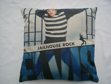 "Rock n Roll/Rockabilly ""Elvis Presley"" Cushion/Pillow Case Cover. Jailhouse Rock"