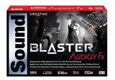 New Creative Sound Blaster Audigy Fx 5.1 Channel PCIe Internal Audio Sound Card